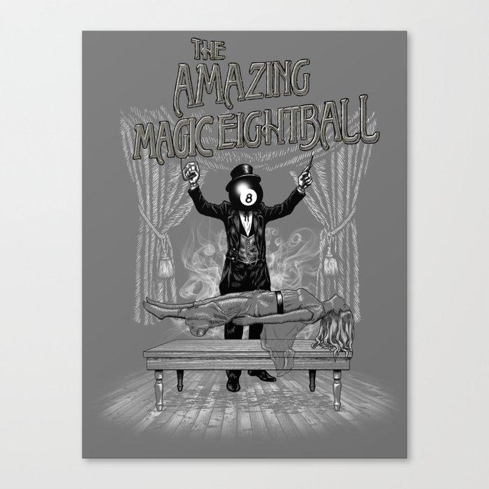The Amazing Magic Eightball Canvas Print