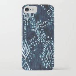 SATELLITE TRIBAL - INDIGO iPhone Case