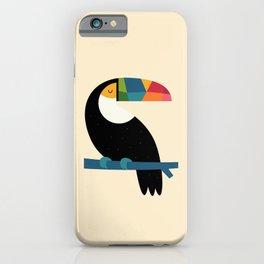 Rainbow Toucan iPhone Case
