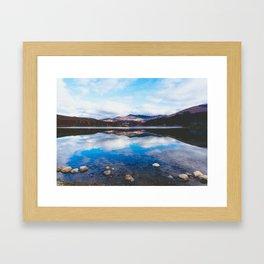 Lago, El Chalten, Patagonia, Argentina Framed Art Print