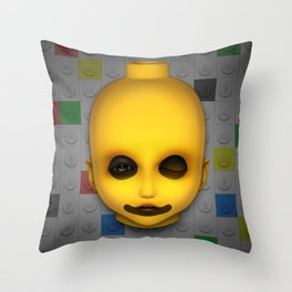 Misfit - Dolly Throw Pillow