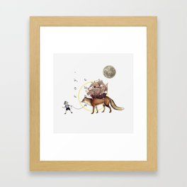 Dromomania Framed Art Print