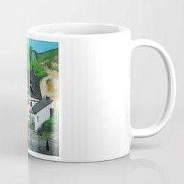 The Oldest Inn In England Acrylic Fine Art Coffee Mug