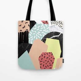 Thinking About Textures Tote Bag