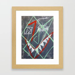 Self-Portrait 1 Framed Art Print