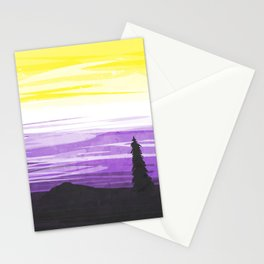 Non Binary Sky Stationery Cards