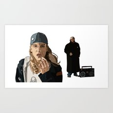 Jay and Silent Bob, Clerks 2 Art Print