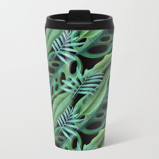 tropical again Metal Travel Mug