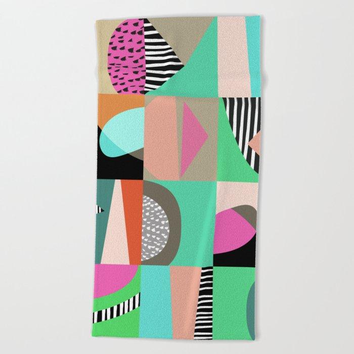 Naive VIII Beach Towel
