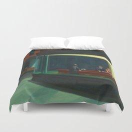 Edward Hopper's Nighthawks Duvet Cover