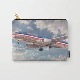 American Airlines Boeing 737 Carry-All Pouch