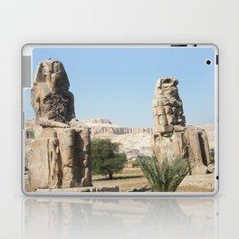 The Clossi of memnon at Luxor, Egypt, 1 Laptop & iPad Skin