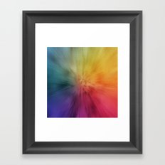Colourburst Framed Art Print