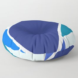 Ocean's Shell Floor Pillow