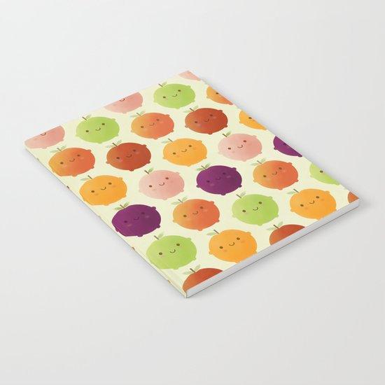 Cutie Fruity (Watercolour) Notebook