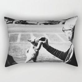 The Cat's Meow Rectangular Pillow