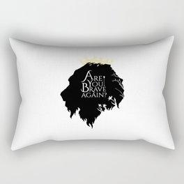 Brave Again Rectangular Pillow
