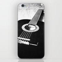 guitar iPhone & iPod Skins featuring Guitar by Falko Follert Art-FF77