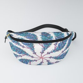 Feather Wheel Fanny Pack