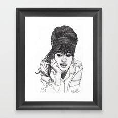 Ronnie Spector 2 Framed Art Print