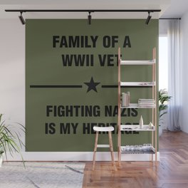 WWII Family Heritage Wall Mural