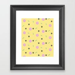 Time 4 Pizza Framed Art Print