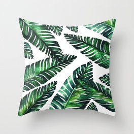 Live tropical II Throw Pillow