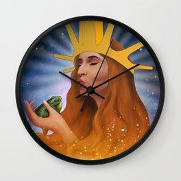 Princess Kiss Wall Clock