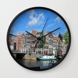 Amsterdam I Wall Clock