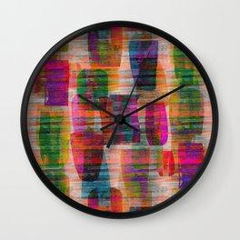 abstract ceramics Wall Clock
