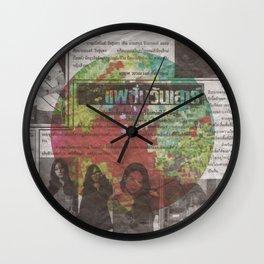 Thai 3 Wall Clock