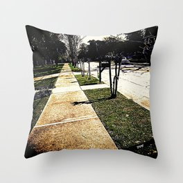 Sidewalk 921 Throw Pillow