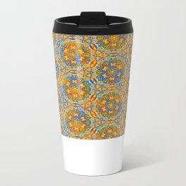 Pattern 7 Metal Travel Mug