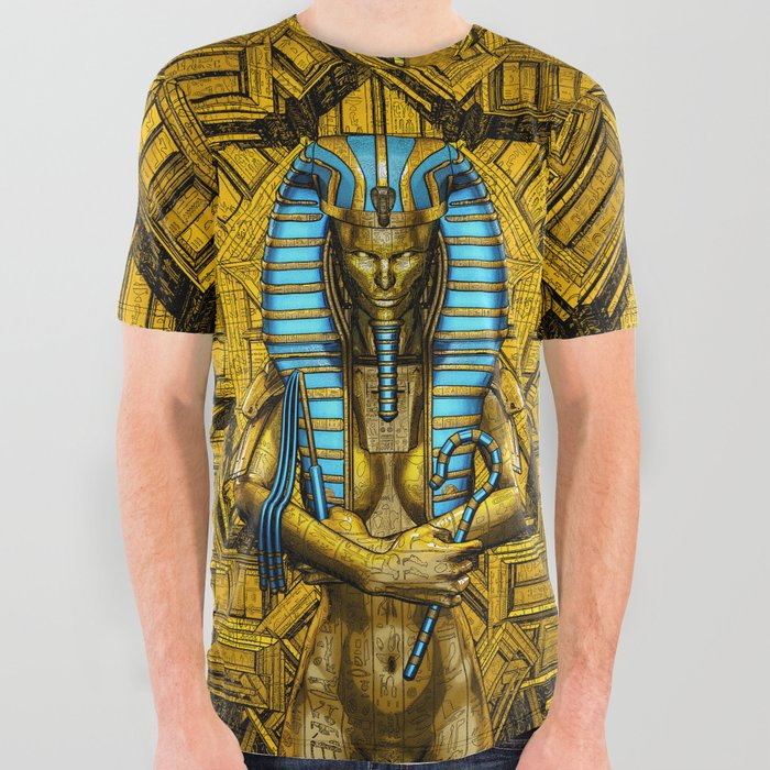 Sacred Queen All Over Graphic Tee