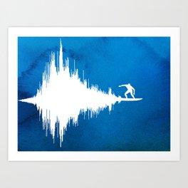 Soundwave Art Print