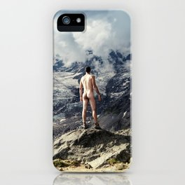 World Naked Hike iPhone Case