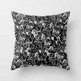 Macadelic Throw Pillow