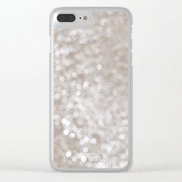 .: light spots :. Clear iPhone Case