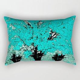 Trees Green Three Rectangular Pillow
