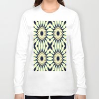 chic Long Sleeve T-shirts featuring Tropical Paradise Flower Mandala Pattern by 2sweet4words Designs