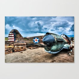 WWII Relic Mustang Canvas Print