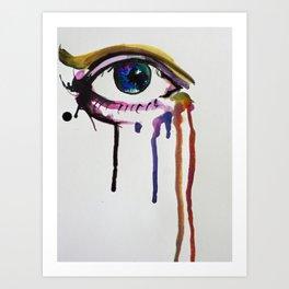 Creative Eye Art Print