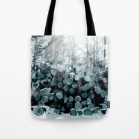wood Tote Bags featuring wood  by mark ashkenazi