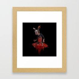 the rabbit Framed Art Print