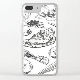 Oh My Omelets Clear iPhone Case