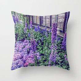Indoor Spring Throw Pillow