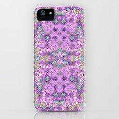 Tapestry in Lavender iPhone (5, 5s) Slim Case