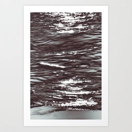 Atlantic Ocean Waves 4177 Art Print