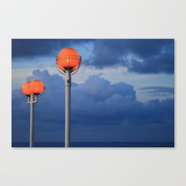 Opposite, but Perfect Canvas Print