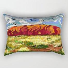 Urulu Rectangular Pillow